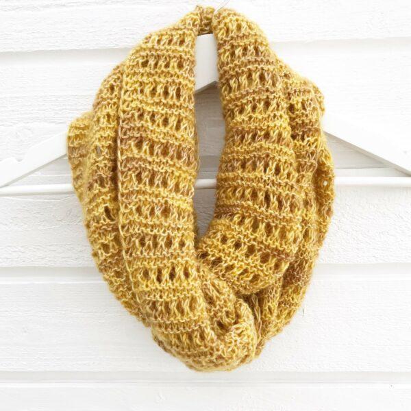 Honeybee scarf-Pysselofix-Spirit 10818-029B_Bild_04