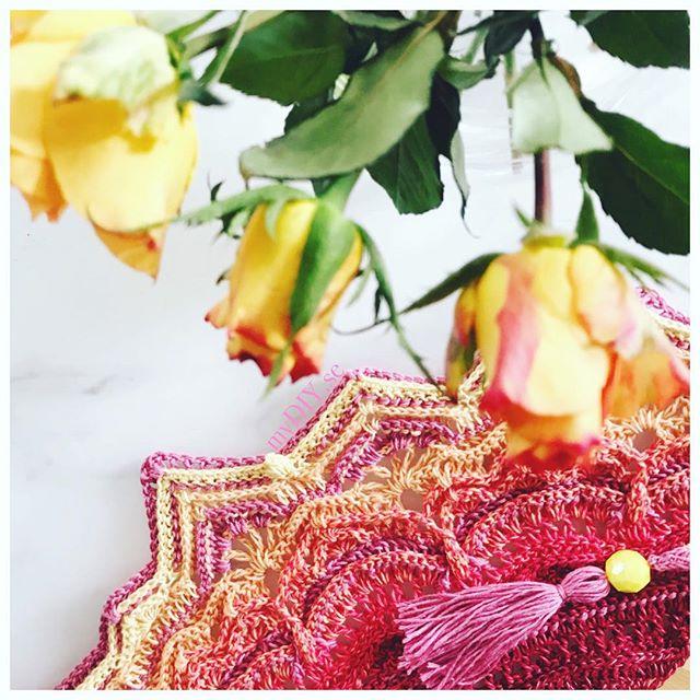 Dalliance sjal - Virkmönster av MyDIY. Vacker virkad sjal.