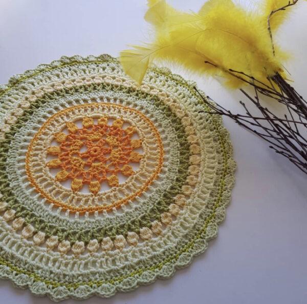 MyDIY - Flower Mandala - Catona - 10718-001A - Bild_02 virkad av Annimia
