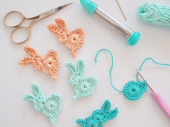 Crocheted Easter decorations