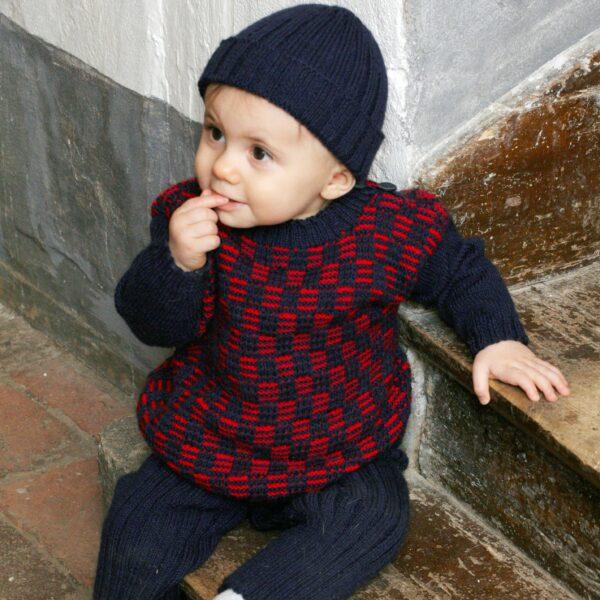 901_2230_svarta_fåret_stickad_baby_barn_tröja_byxa_mössa_gicona