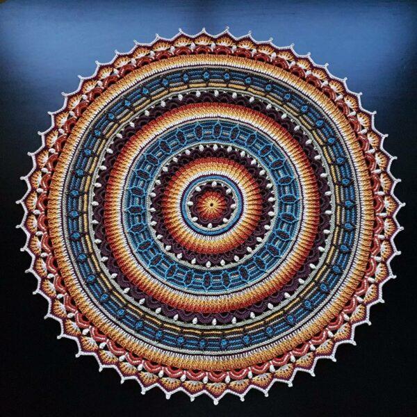 Anemone Mandala-Sugar Rush