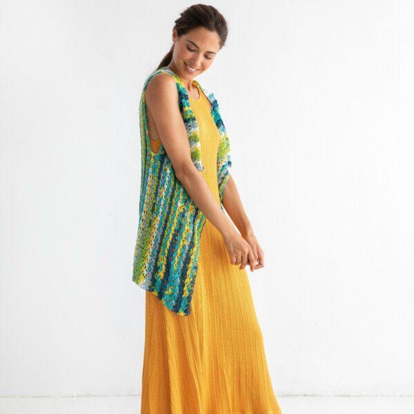 JOY virkad damtunika - Jaipur Cake - Waistcoat - Katia Yarns_gicona_01
