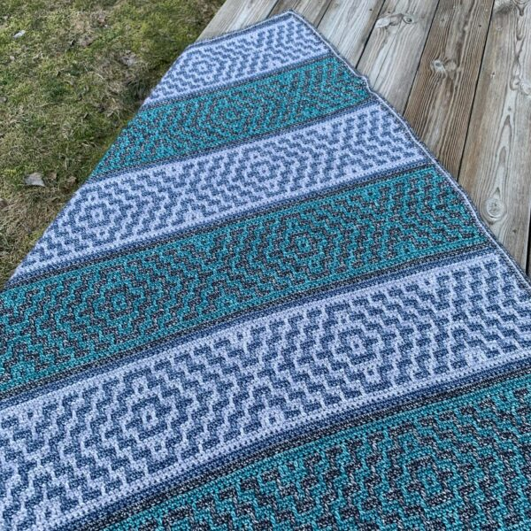 Virkevira - Aztec filt - Cotton-Merino Katia Yarns - 1019-003A_Bild_06