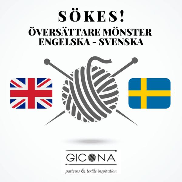 Sökes - Översättare engelska - svenska