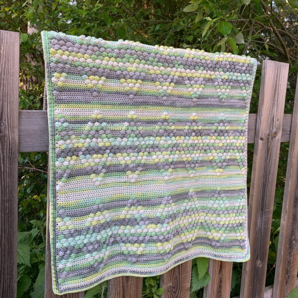 Diamond Baby Blanket - Bombay - Limell Design_02