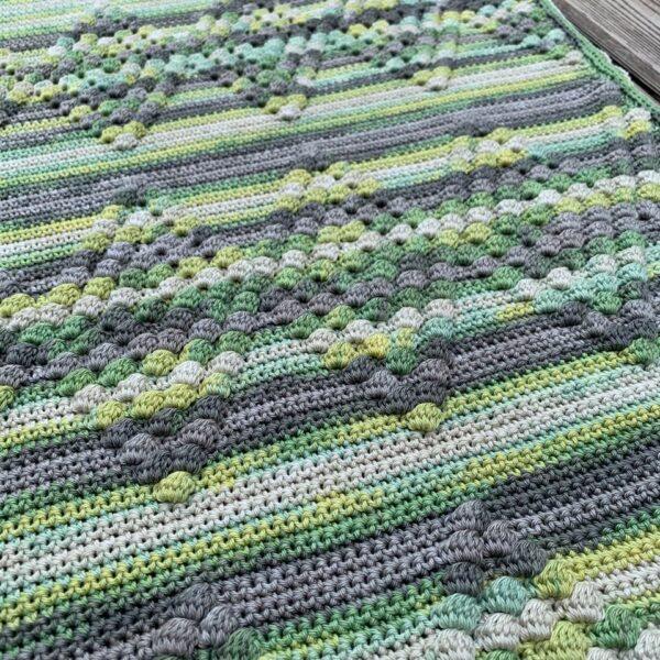 Diamond Baby Blanket - Bombay - Limell Design_04