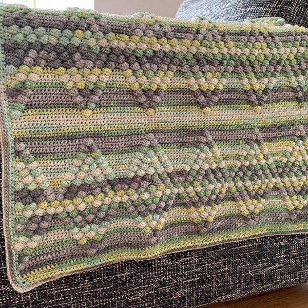 Diamond Baby Blanket - Bombay - Limell Design_05