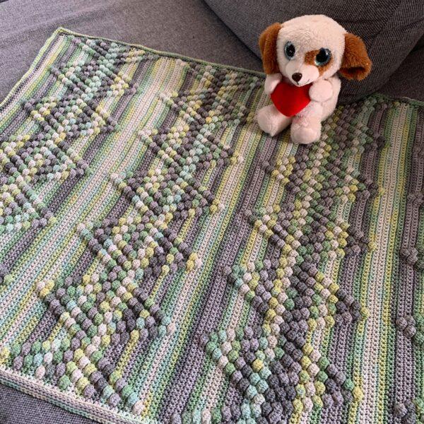 Diamond Baby Blanket - Bombay - Limell Design_06