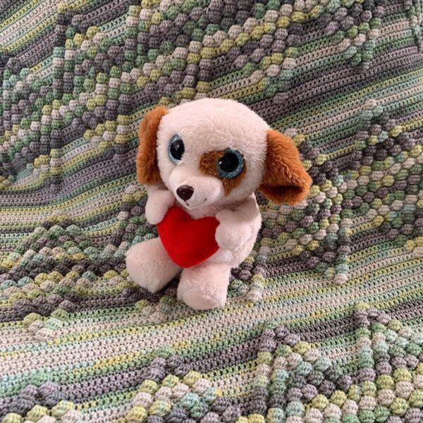 Diamond Baby Blanket - Bombay - Limell Design_07