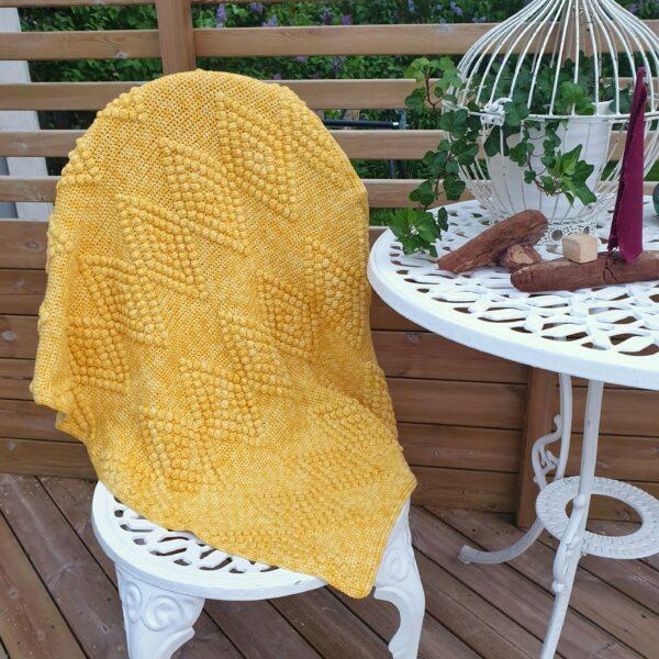 Diamond Baby Blanket - Sunkissed - Pia Ahvenainen Jönsson 01_b