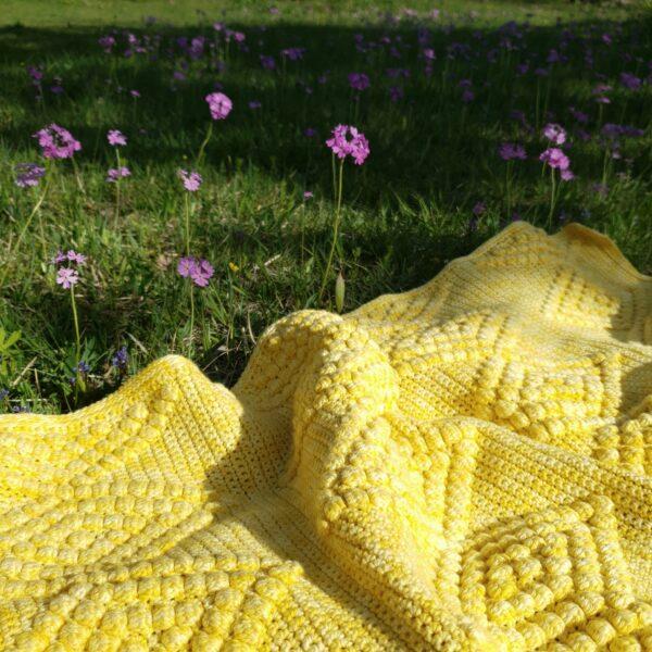 Diamond Baby Blanket - Sunkissed - Pia Ahvenainen Jönsson 03