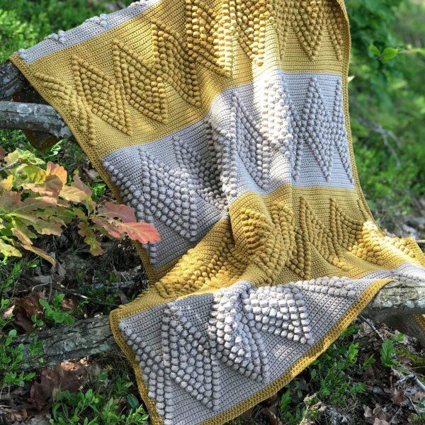 Diamond Baby Blanket - Tilda - Hanna Johansson 01