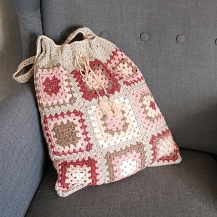 Väska av mormorsrutor - 113-1048a - Catona_06