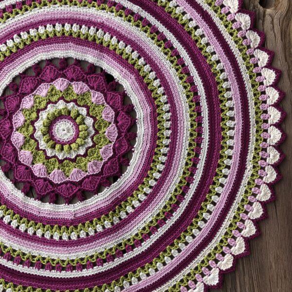 Happy Spring Mandala - Catona Velvet_02