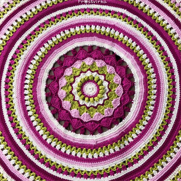 Happy Spring Mandala - Catona Velvet_03