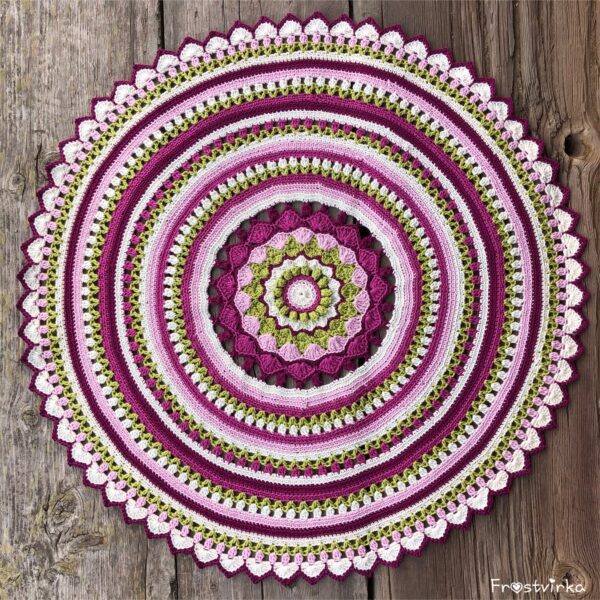 Happy Spring Mandala - Catona Velvet_04