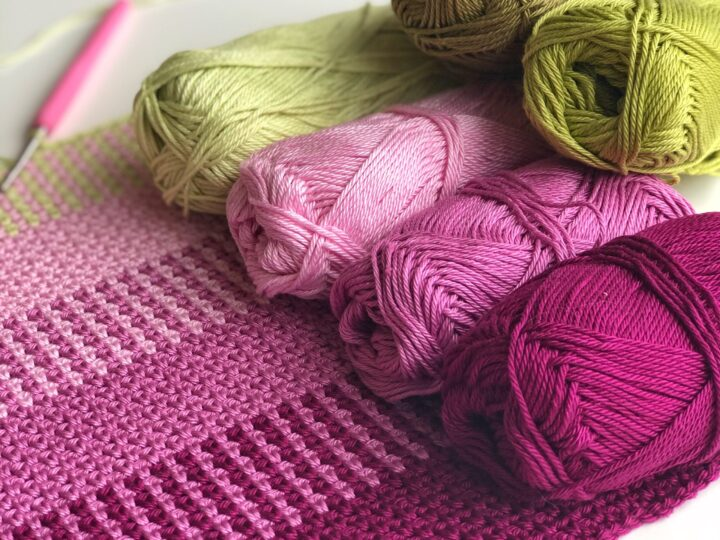 Ombré Crochet – Gradient virkning