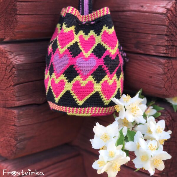 Dancing Hearts Mochila Bag - Mini Catona_01