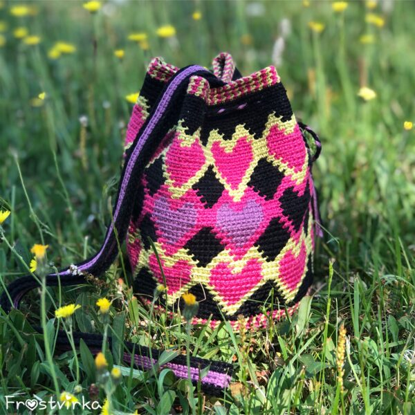 Dancing Hearts Mochila Bag - Mini Catona_02